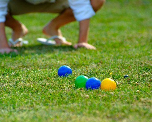 Ever played the Italian outdoor game called bocce ball? It's so fun, social & easy to learn. Let www.GameOnFamily.com teach you how to play bocce ball and the bocce ball rules. Game on!