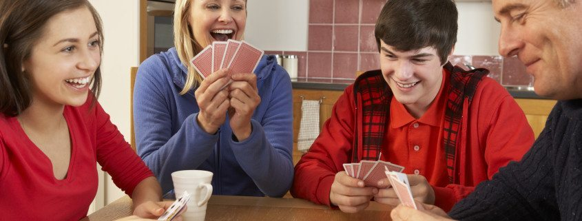 Want to play a fun card game? Learn how to play euchre at www.GameOnFamily.com. Discover the euchre rules and start playing this social game with your friends and family. Game on!