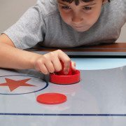 Remember the classic arcade and game room game air hockey? Learn how to play air hockey and the air hockey rules at www.GameOnFamily.com. Game on!