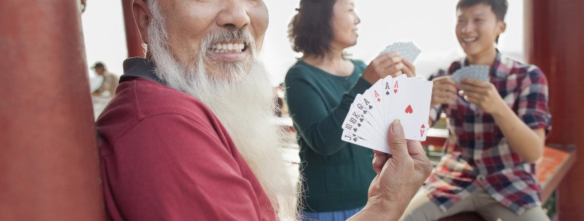 Score your 100 points before your opponent does by learning how to play the gin rummy card game at www.GameOnFamily.com. Gin rummy rules! Game on.