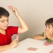 Remember the rules for the Go Fish card game? Let www.GameOnFamily.com re-teach you how to play go fish. Such a fun card game for the family and kids. Game on!