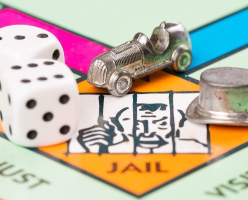 It's a crime to not know the Monopoly rules. Learn how to play Monopoly, the classic board game, at www.GameOnFamily.com. Game on!