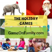 Discover fun holiday games at www.GameOnFamily.com! See our list of recommended festive games that will liven up your holiday party.