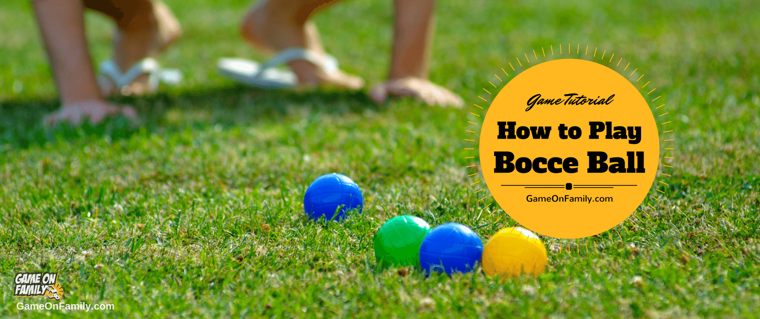 Ever played the Italian outdoor game called bocce ball? It's so fun, social & easy to learn. Let www.GameOnFamily.com teach you how to play bocce ball and the bocce ball rules via our Bocce Ball game tutorial. Game on!