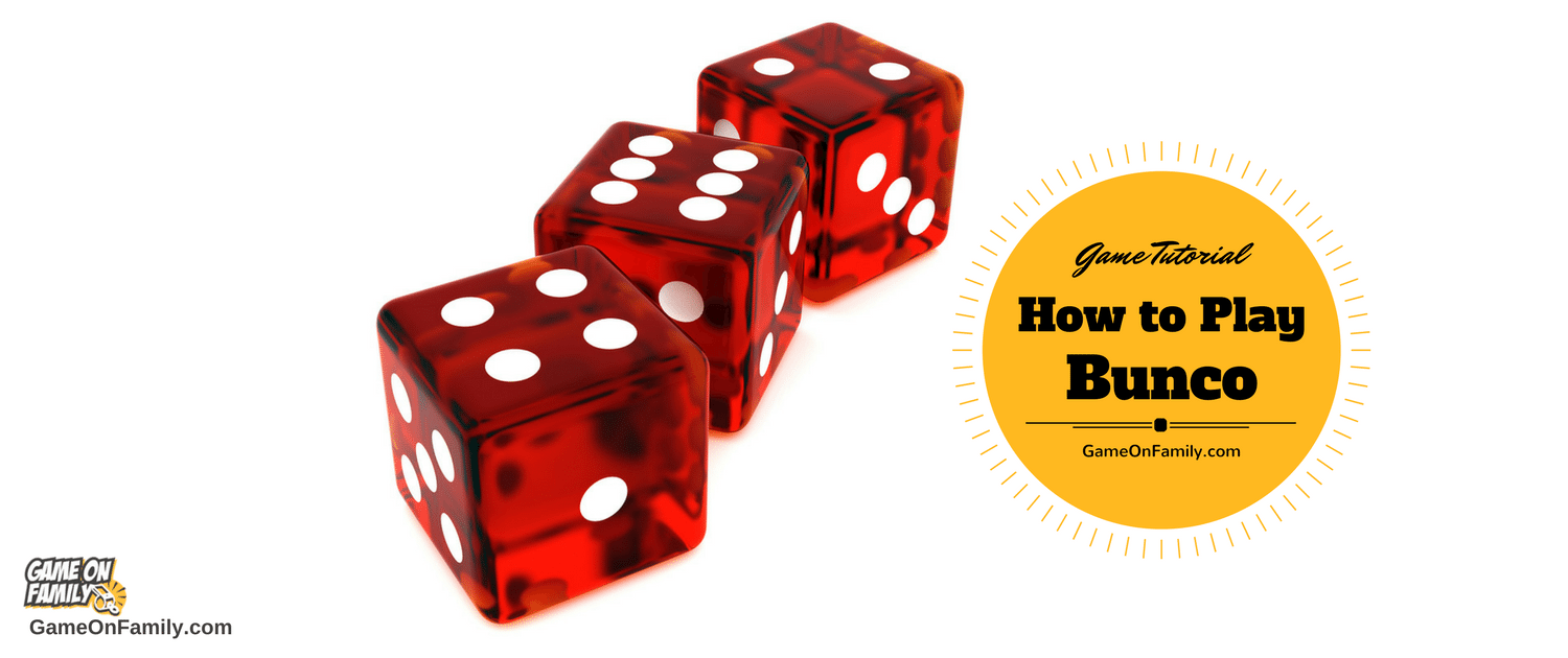 Ready to learn a fun group game based on luck? Check out how to play bunco at www.GameOnFamily.com!