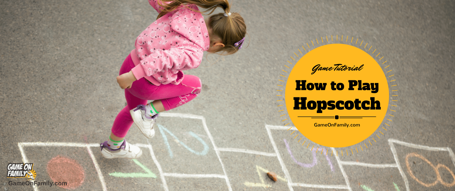 Did you ever learn how to play hopscotch? Let www.GameOnFamily.com teach you the hopscotch rules for this classic outdoor kids game. Game on!