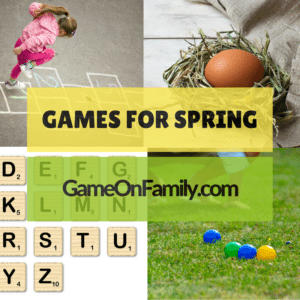 Learn how to play our games for Spring with our game tutorials. See what fun games we're playing and recommending this month! Find your next fun family game at www.GameOnFamily.com. Game on!