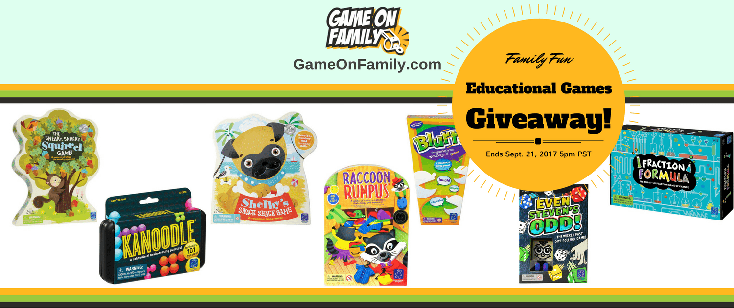 Educational Games Giveaway